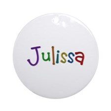 Julissa Play Clay Round Ornament