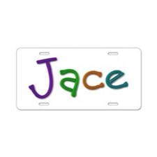 Jace Play Clay Aluminum License Plate
