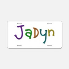 Jadyn Play Clay Aluminum License Plate