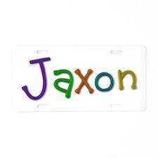Jaxon Play Clay Aluminum License Plate