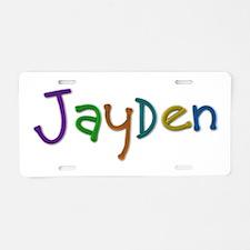 Jayden Play Clay Aluminum License Plate