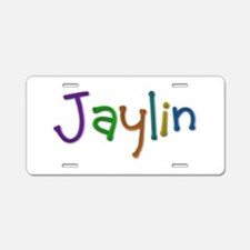 Jaylin Play Clay Aluminum License Plate