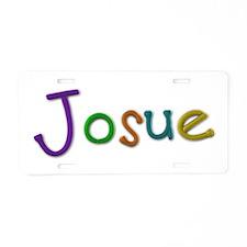 Josue Play Clay Aluminum License Plate