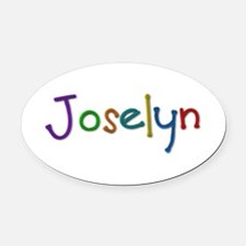 Joselyn Play Clay Oval Car Magnet