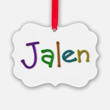 Jalen Play Clay Ornament