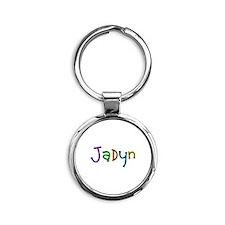 Jadyn Play Clay Round Keychain