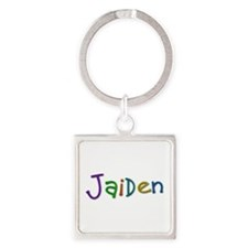 Jaiden Play Clay Square Keychain