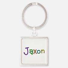 Jaxon Play Clay Square Keychain
