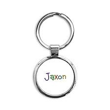 Jaxon Play Clay Round Keychain