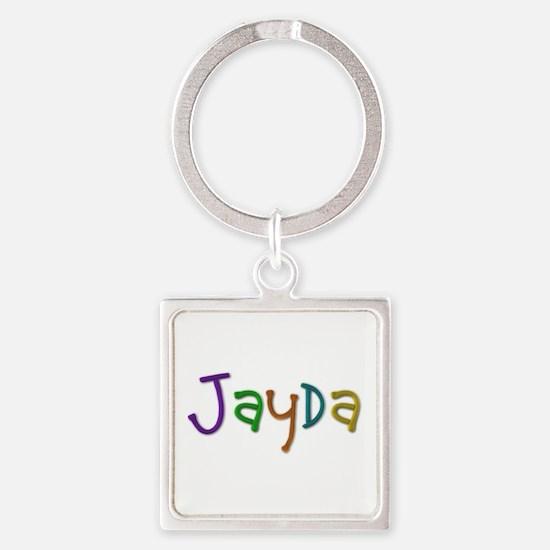 Jayda Play Clay Square Keychain