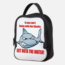 Get Outa the Water! Neoprene Lunch Bag