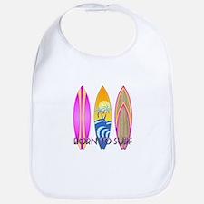 Born To Surf Pink Bib