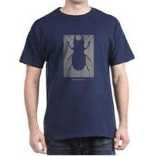 Stag Beetle T-Shirt - Dark Colors