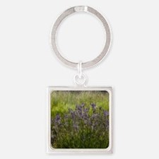 Lavender's Green Square Keychain