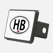 Hollywood Beach - Oval Design. Hitch Cover