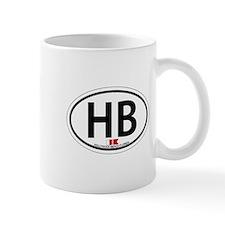 Hollywood Beach - Oval Design. Mug
