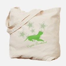 English Coonhound Tote Bag