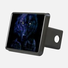 Midnight Wolf Hitch Cover