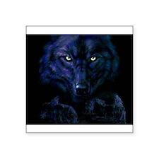 Midnight Wolf Sticker