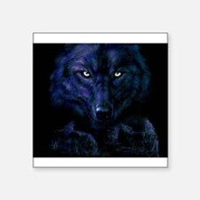 Midnight Wolf Sticker