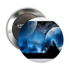 "Wolf at Midnight 2.25"" Button"