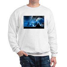 Wolf at Midnight Sweatshirt