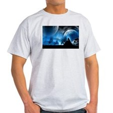 Wolf at Midnight T-Shirt