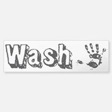 Wash Custom Bumper Bumper Sticker
