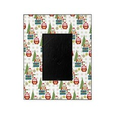 cute christmas owls pattern Picture Frame