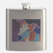 Greyhound #3 Flask