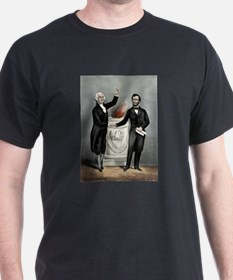 Washington and Lincoln. The father and the saviour