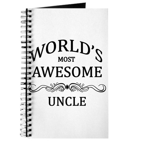 World's Most Awesome Uncle Journal