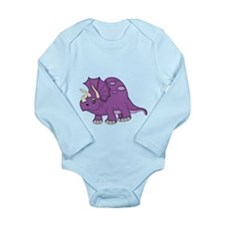 Purple Dinosaur Body Suit