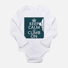 Keep Calm and Climb On Body Suit