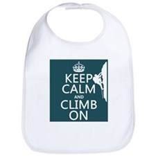 Keep Calm and Climb On Bib