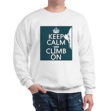 Keep Calm and Climb On Jumper
