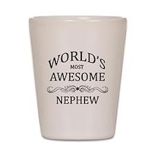World's Most Awesome Nephew Shot Glass