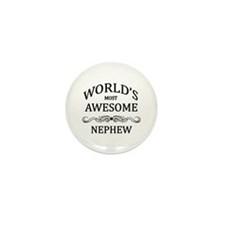 World's Most Awesome Nephew Mini Button (10 pack)