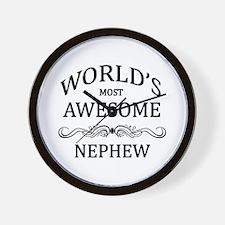 World's Most Awesome Nephew Wall Clock