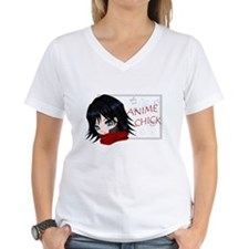 Anime Chick T-Shirt (white) T-Shirt