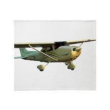 Cessna 172 Skyhawk Throw Blanket