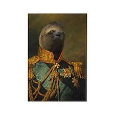 General Sloth Rectangle Magnet