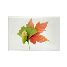 Fall Trio Rectangle Magnet