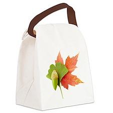 Fall Trio Canvas Lunch Bag