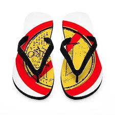 No Euro Flip Flops
