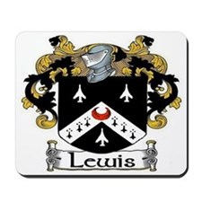 Lewis Coat of Arms Mousepad