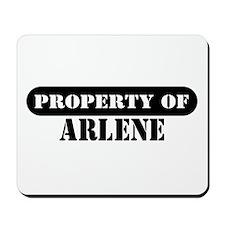 Property of Arlene Mousepad