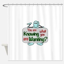 Cruise souvenirs Shower Curtain