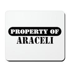 Property of Araceli Mousepad