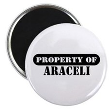 "Property of Araceli 2.25"" Magnet (100 pack)"